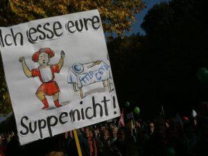 """© Katja Mentz """"Stop TTIP/CETA Demo in Berlin,"""""""