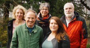 Fraktion grün+alternativ+links (GAL): Katja Mentz, Carl Howe, Antje Jansen, Kristina Aberle, Rolf Klinkel (v.l.n.r.)